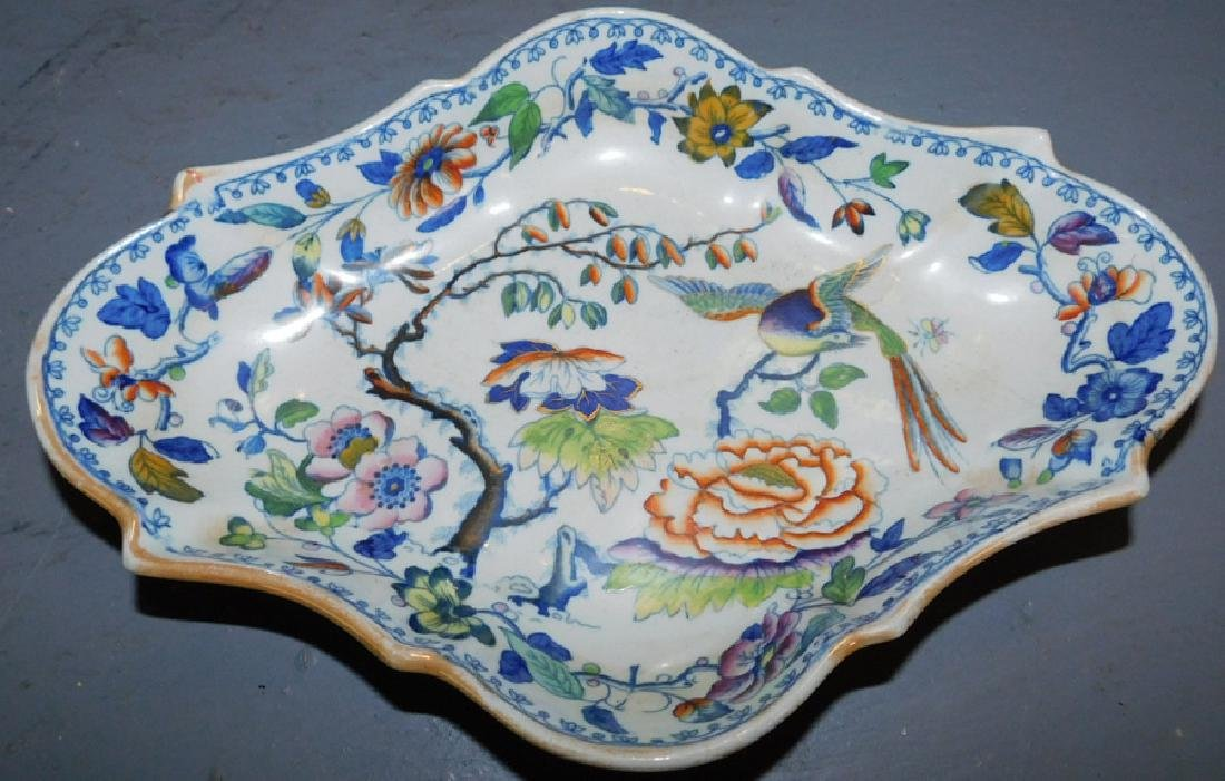 Davenport hand painted tray.