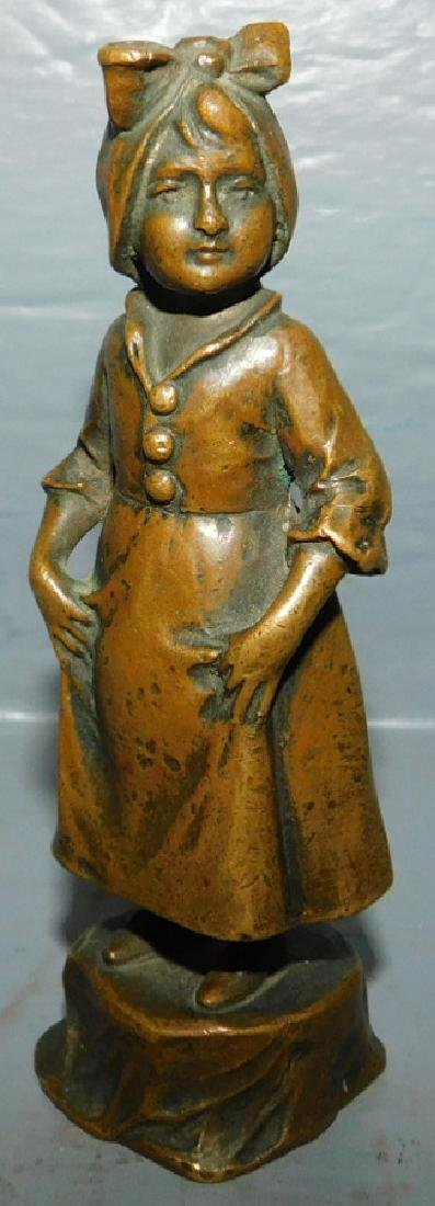 Victor H. Siefert Signed bronze female figure.