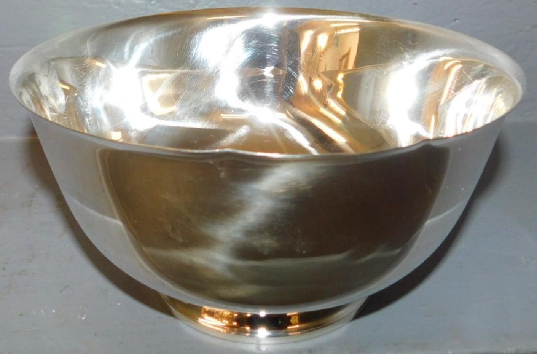 Tiffany sterling bowl.