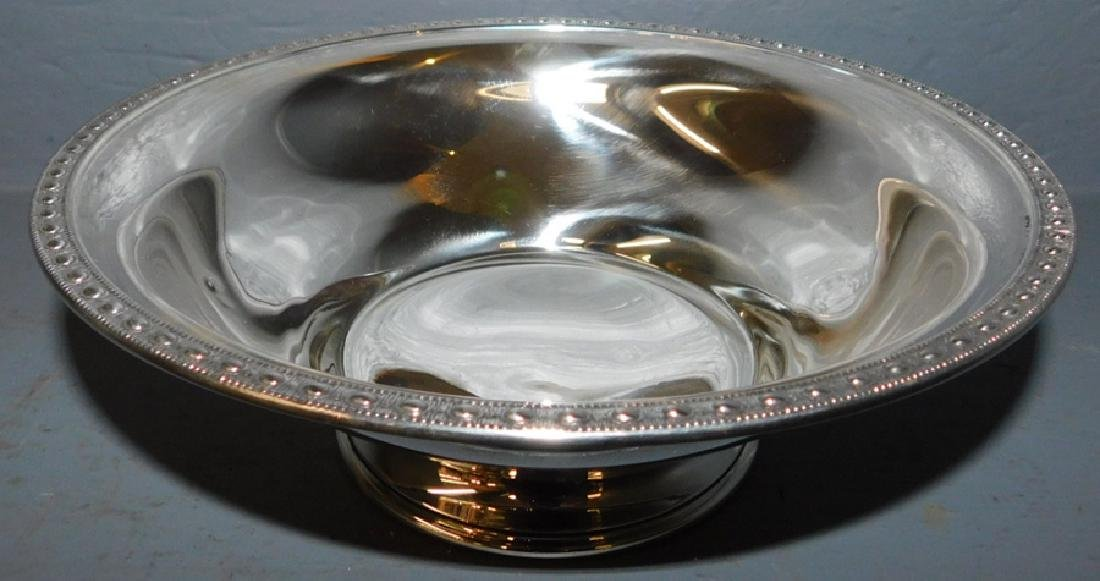 Manchester sterling bowl.