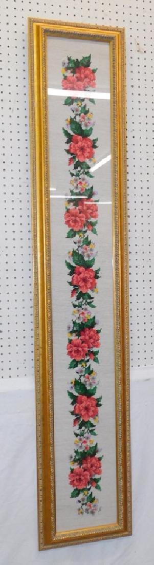 Needlepoint framed tapestry
