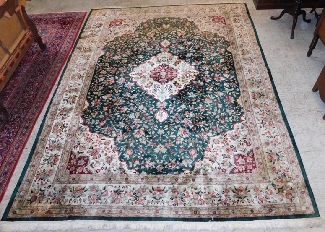 "9'1"" x 12' Persian handmade rug."