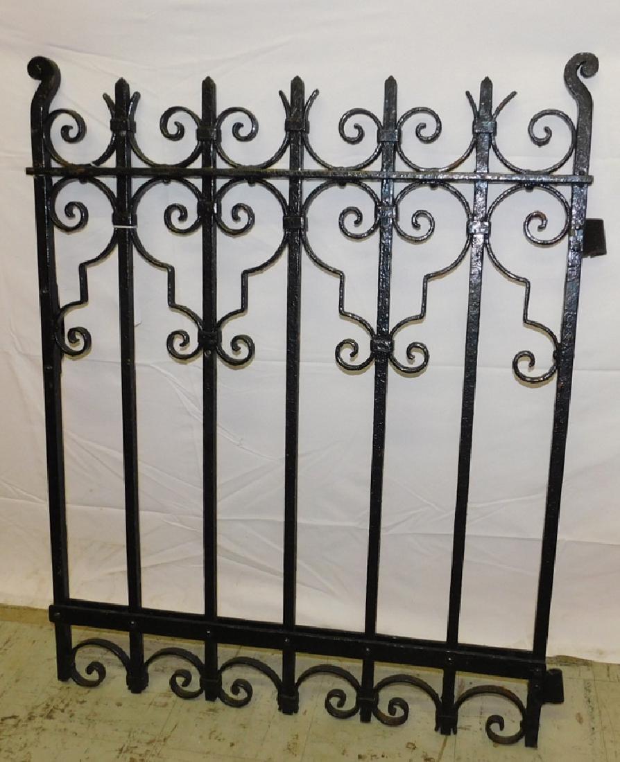 Antique iron gate.