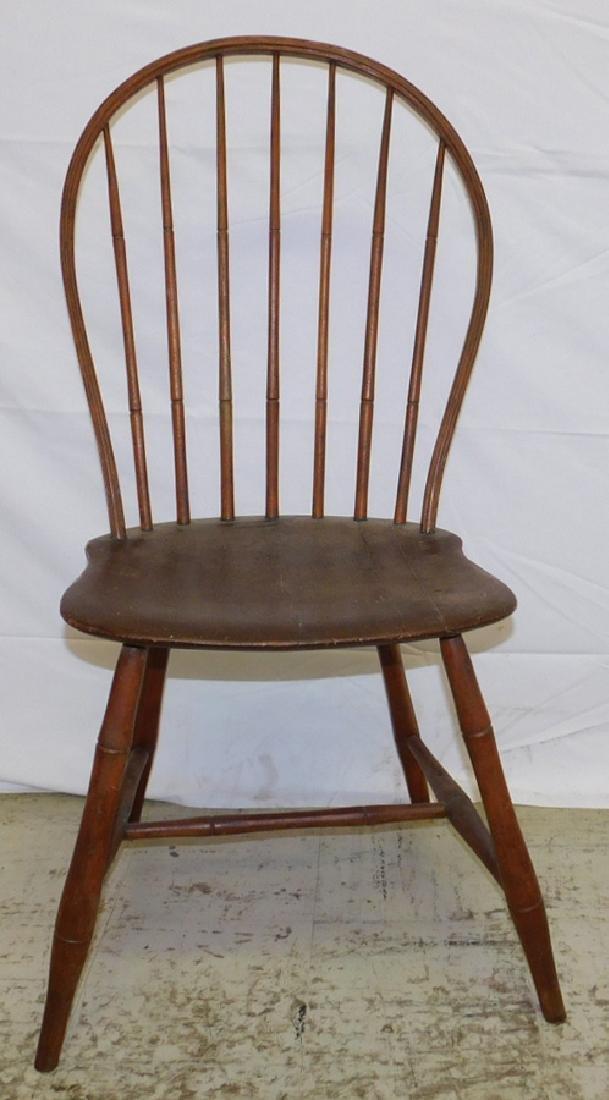 Avose Windsor saddle seat side chair.