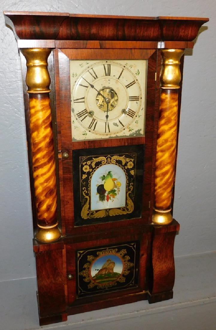 Reverse paint Seth Thomas clock