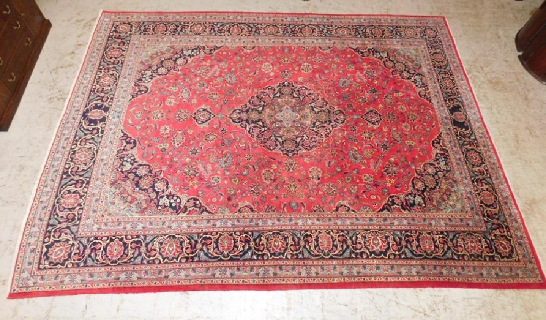 9' x 12' Hand made Oriental rug