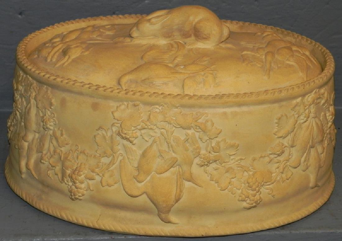 Wedgwood cane ware covered tureen.