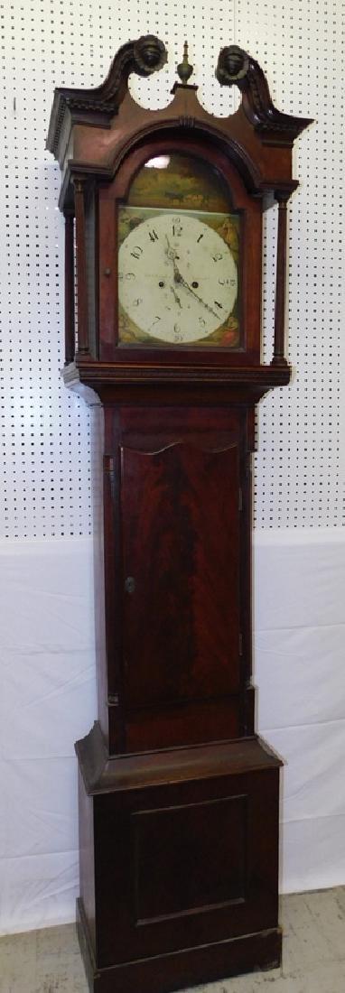 Mahogany 8 day Grandfather clock.