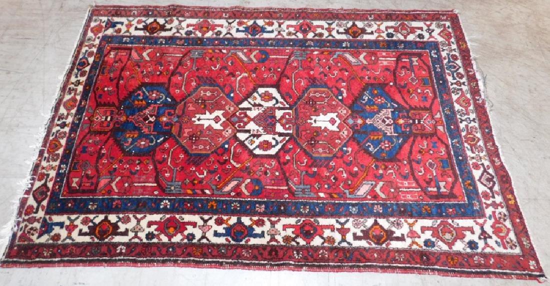 """6'5"""" x 4'5"""" Persian rug."""