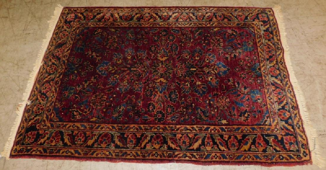 """3' 7"""" x 5'2"""" Persian rug"""