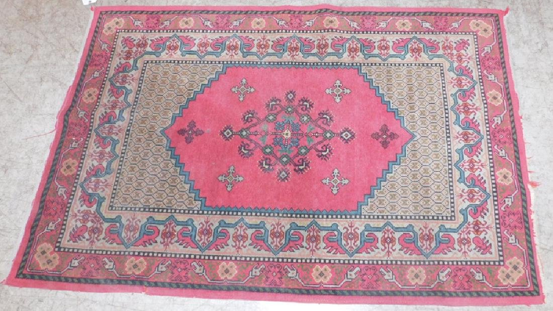 "Handmade Oriental 3' x 6"" rug"