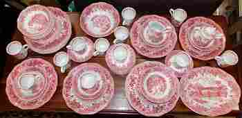 Set of English Ironstone china by Meakin