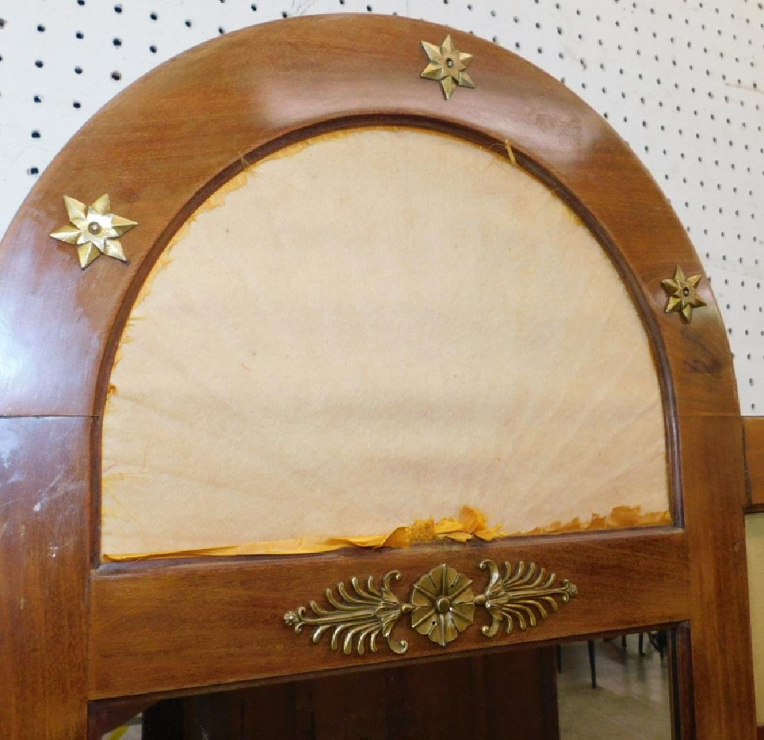 French 3 panel dressing screen. - 3
