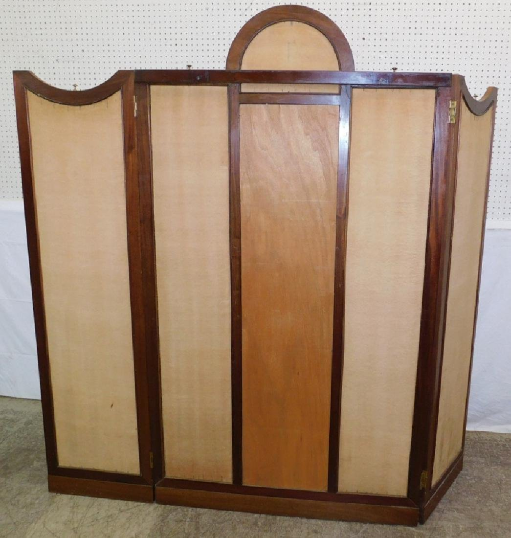 French 3 panel dressing screen. - 6