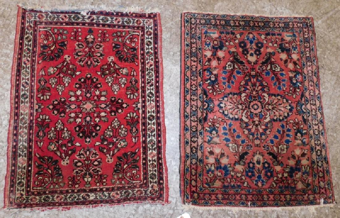 "2'x 2' 6'"" x 1'10""  x 2'6"" handmade Oriental rugs"