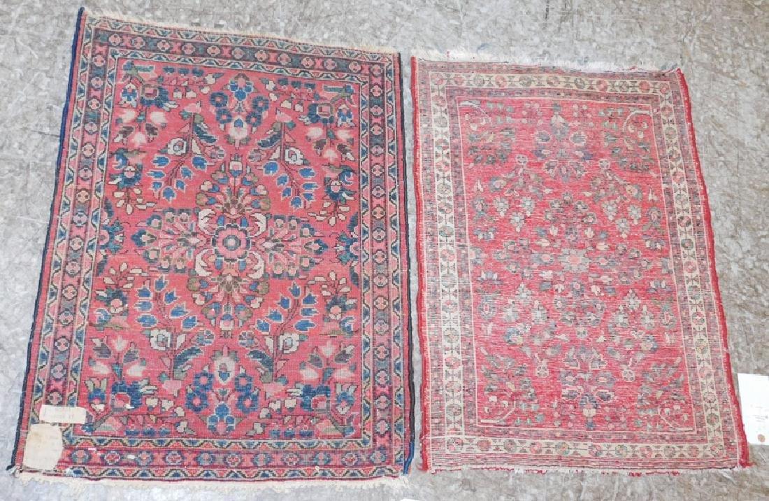 "2'x 2' 6'"" x 1'10""  x 2'6"" handmade Oriental rugs - 3"