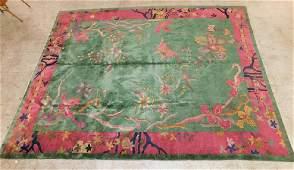 """11' 7"""" X 8' 10"""" Handmade Chinese Rug"""