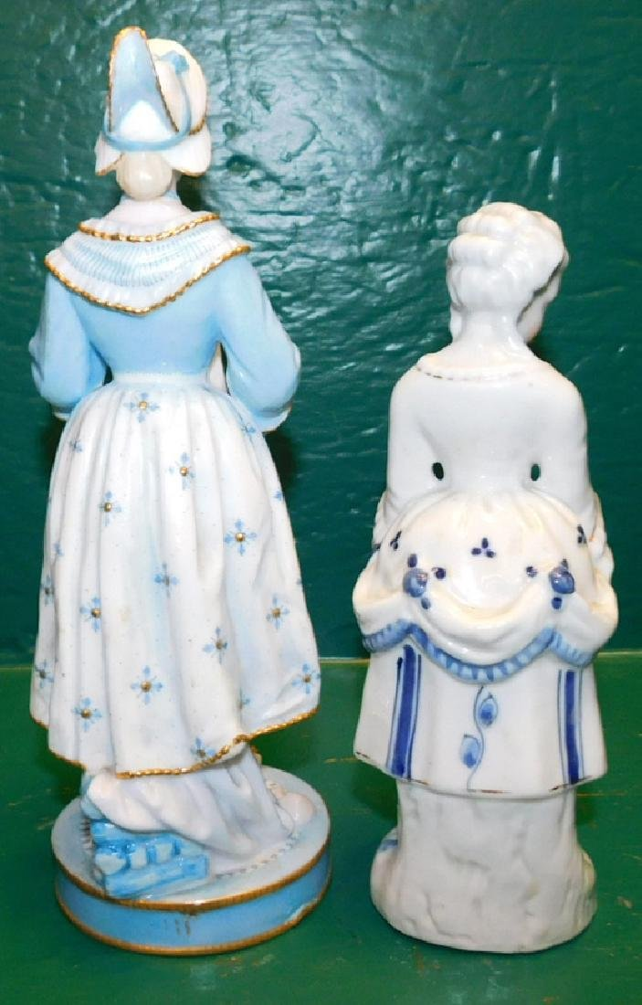 Two Blue & White Chelsea Figurines - 2