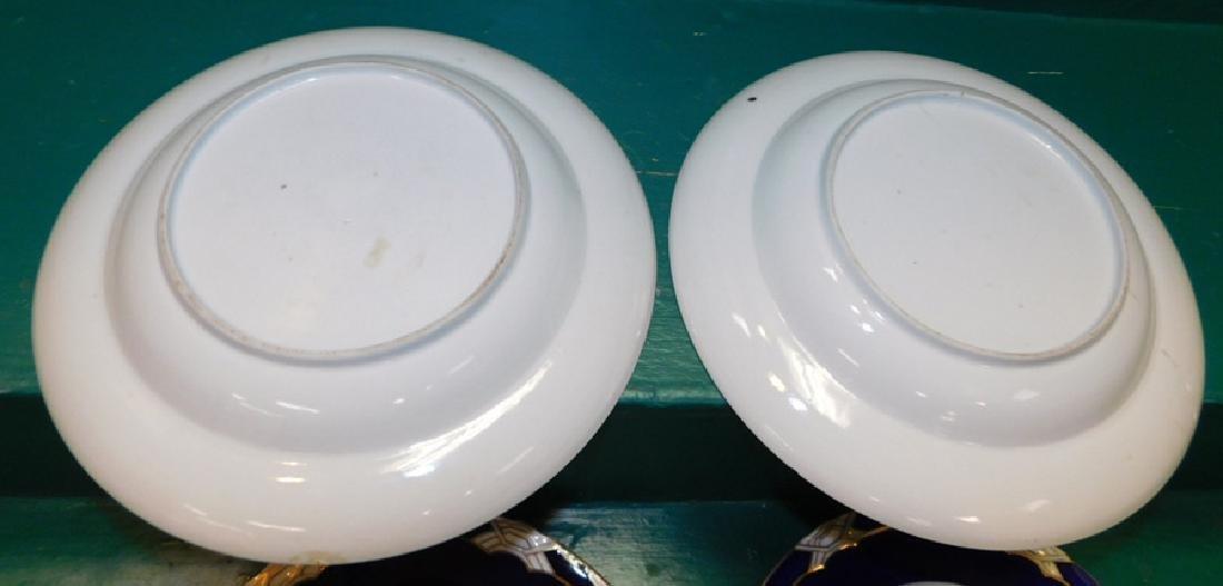 Pair 18th C Export Plates - 4