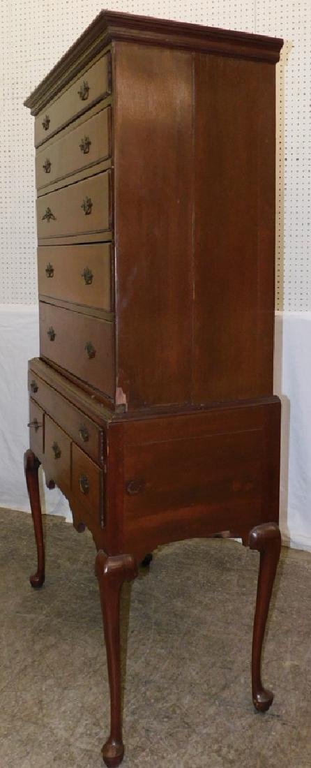 Cherry  Queen Anne Highboy - 2