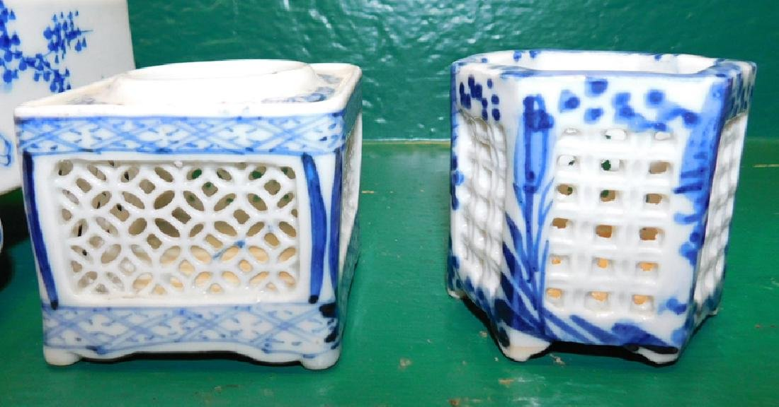 11 Pieces Blue & White Chinese Export Porcelain - 3