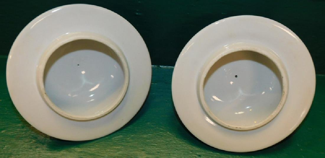 Pair Oriental Temple Jars w/ Six Character Marks - 3
