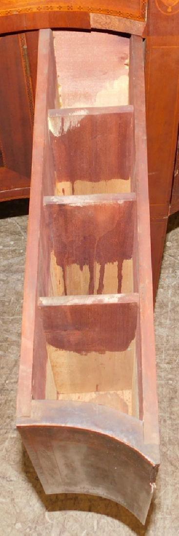 American Mahogany HW Serpentine Front Sideboard - 6