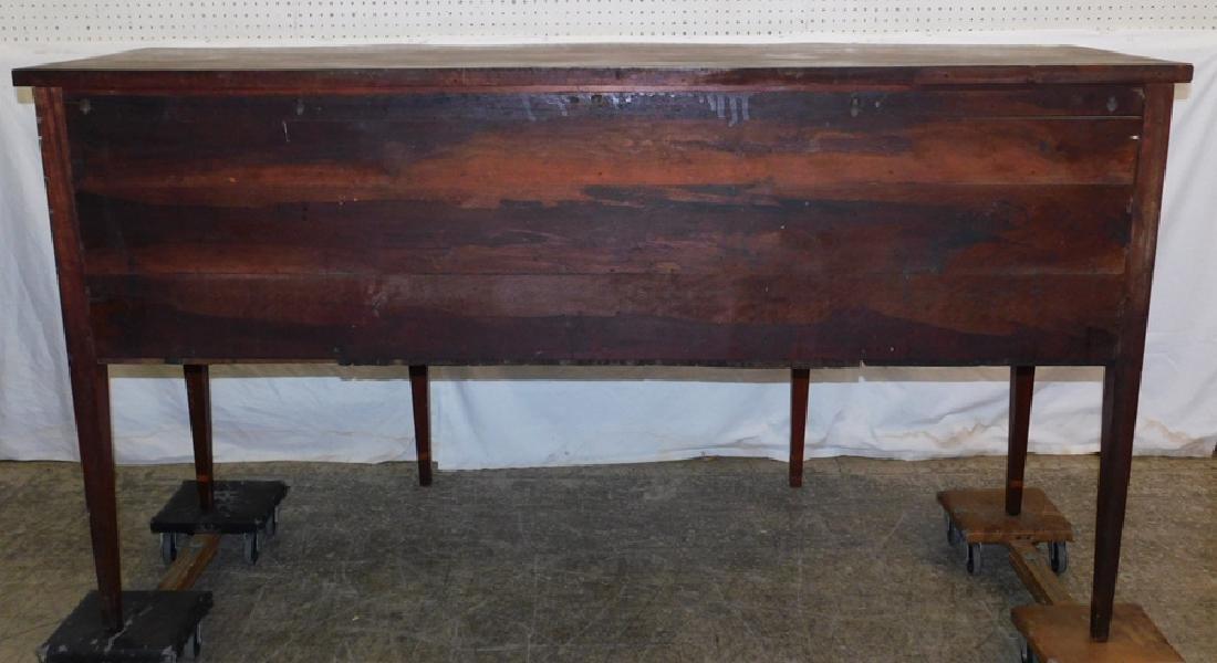 American Mahogany HW Serpentine Front Sideboard - 9