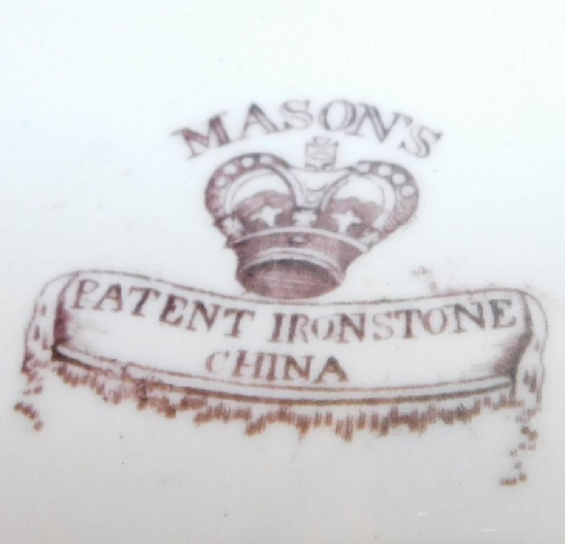 6 19th C English Transferware Ironstone Plates - 4