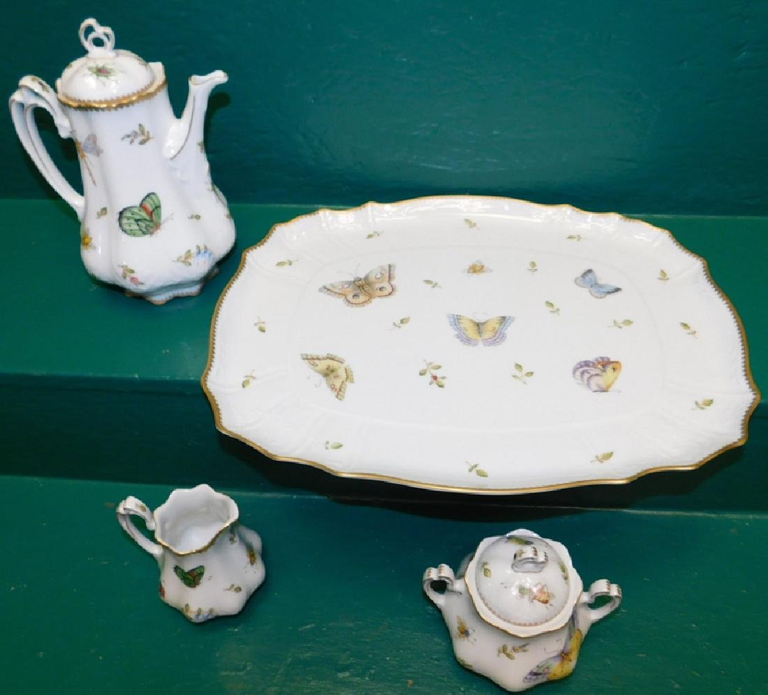 4 Pc Anna Weatherly Spring In Budapest Tea Service - 2