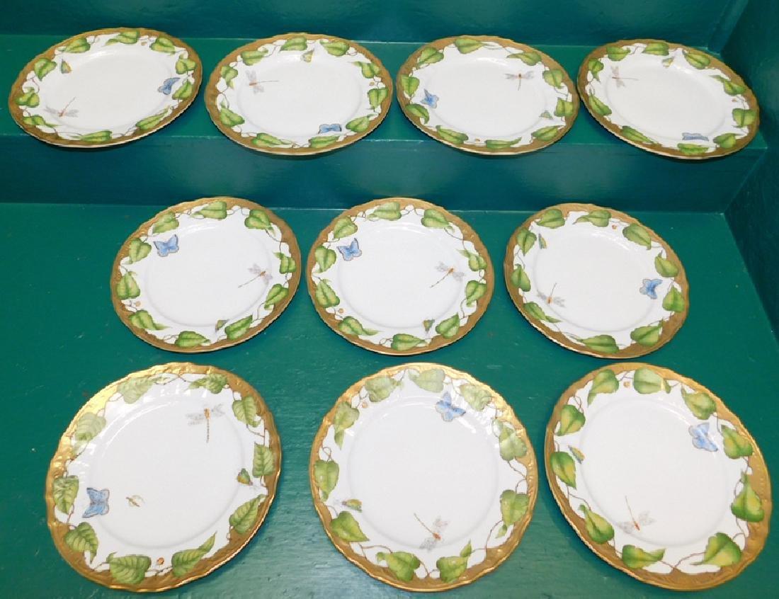 10 Anna Weatherly Ivy Garland Dinner Plates
