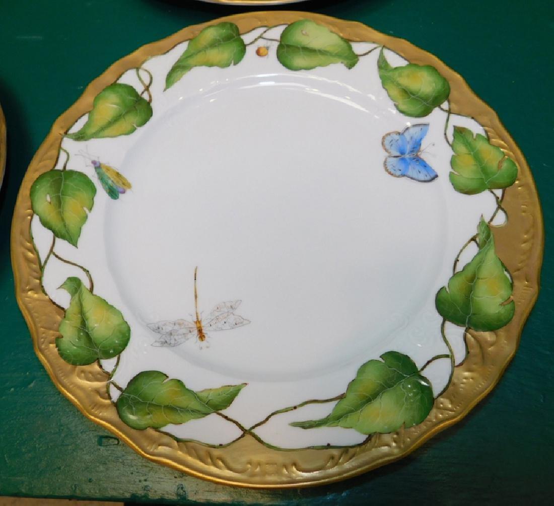 10 Anna Weatherly Ivy Garland Dinner Plates - 2