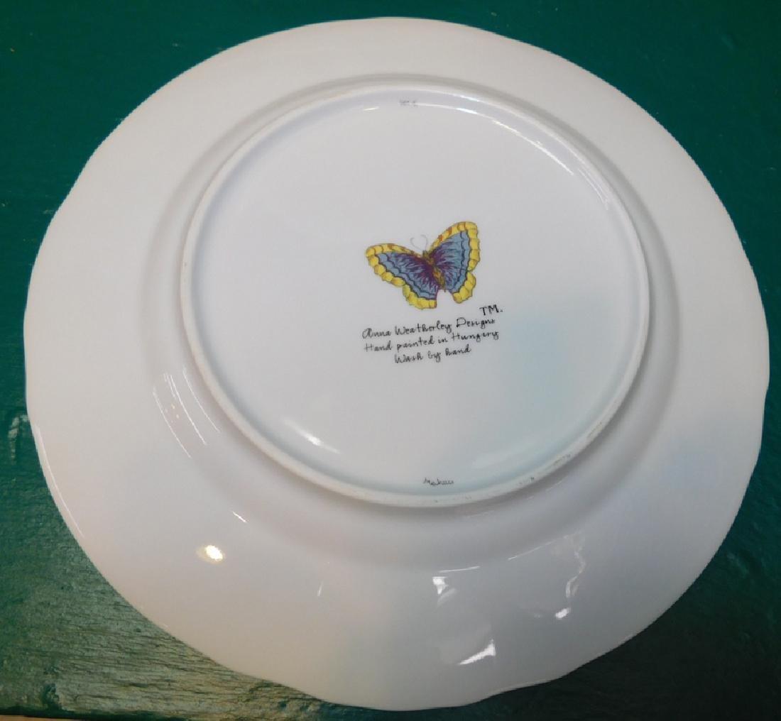 10 Anna Weatherly Ivy Garland Dinner Plates - 3