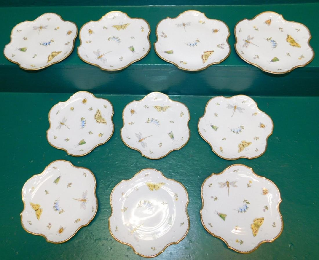 10 Anna Weatherly Spring In Budapest Dessert Plates