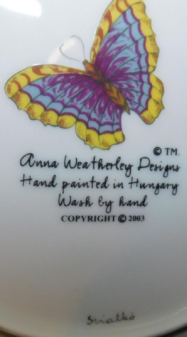 10 Anna Weatherly Spring In Budapest Dessert Plates - 4