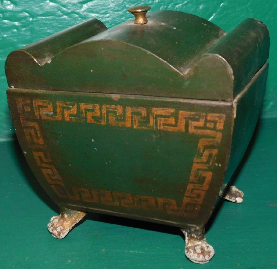 Toleware Tea Caddy