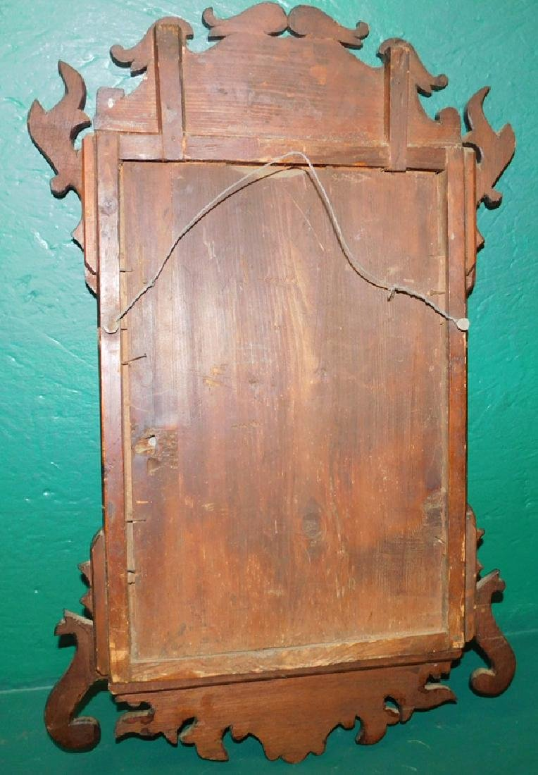 18th C Queen Anne Rosewood Mirror - 2