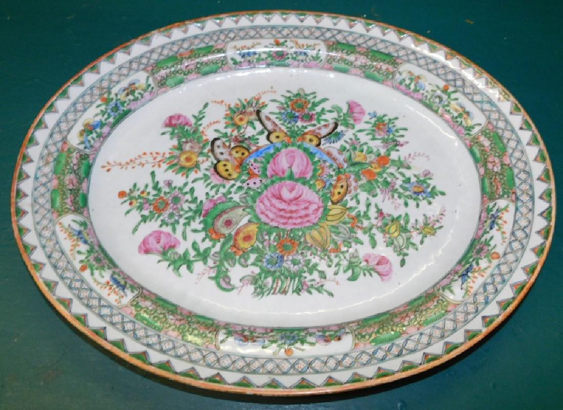 Export Famille Rose Platter