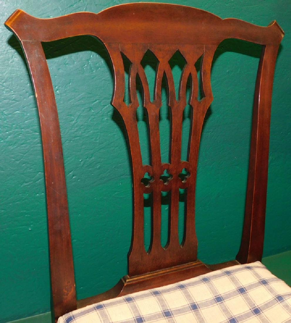 19th C Mahogany Chippendale Side Chair - 2