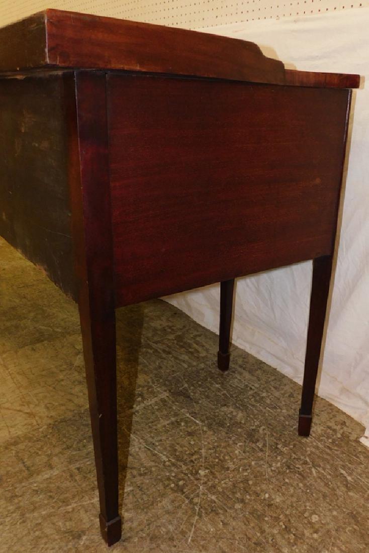 Mahogany Serpentine Front 6 Leg HW Sideboard - 5