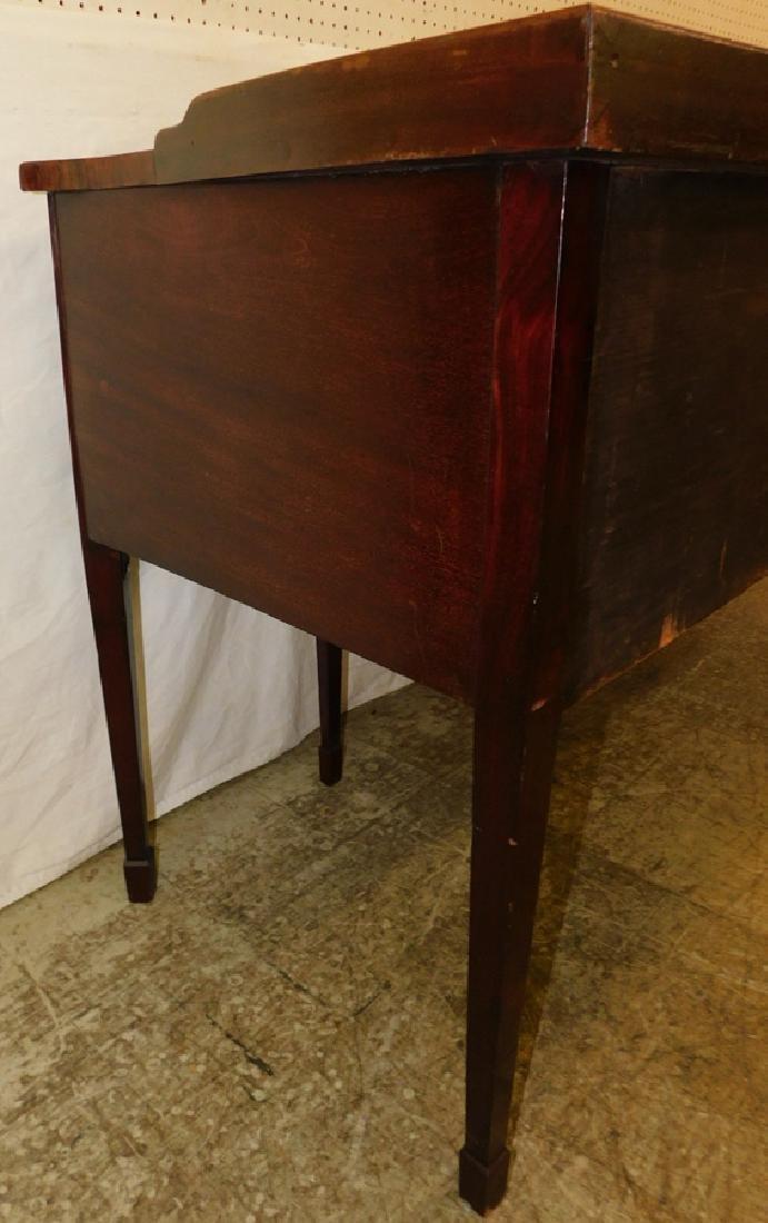 Mahogany Serpentine Front 6 Leg HW Sideboard - 6