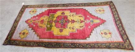 4 6 X  89 Antique Handmade Oriental Rug