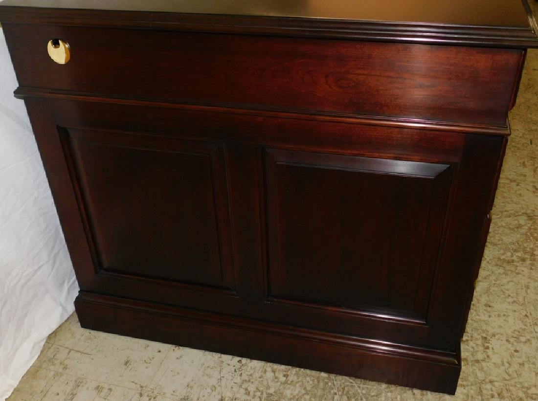Cherry Executive Desk By Statton - 3