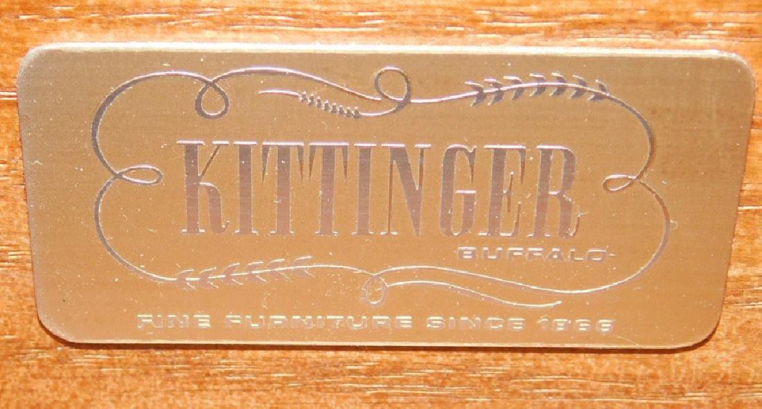 Leather Top Kittinger Mahogany Writing Desk - 6
