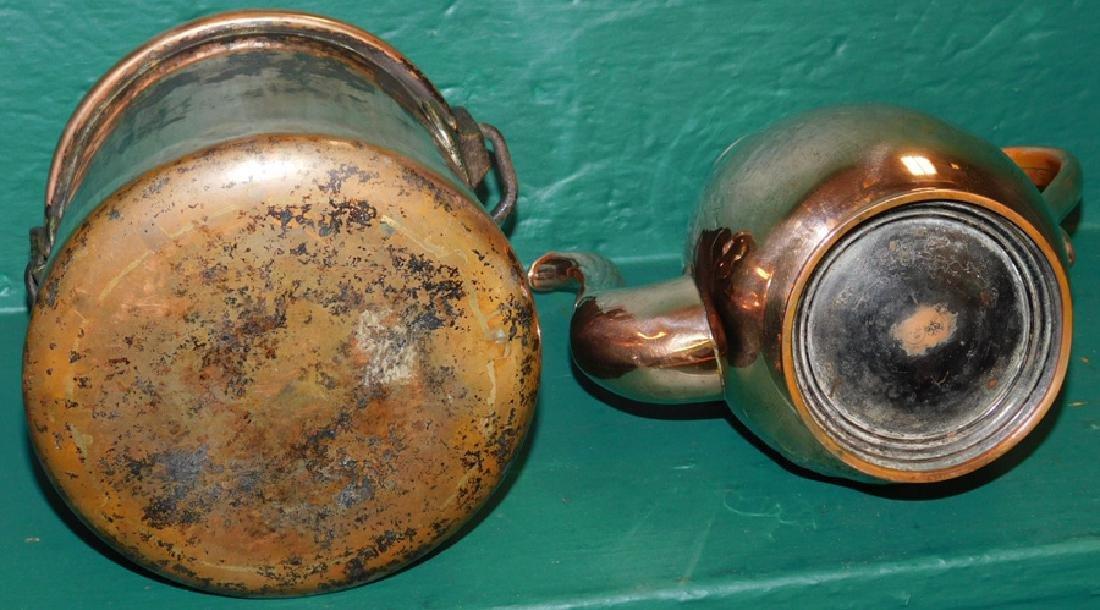 Copper Pot & Teapot - 2