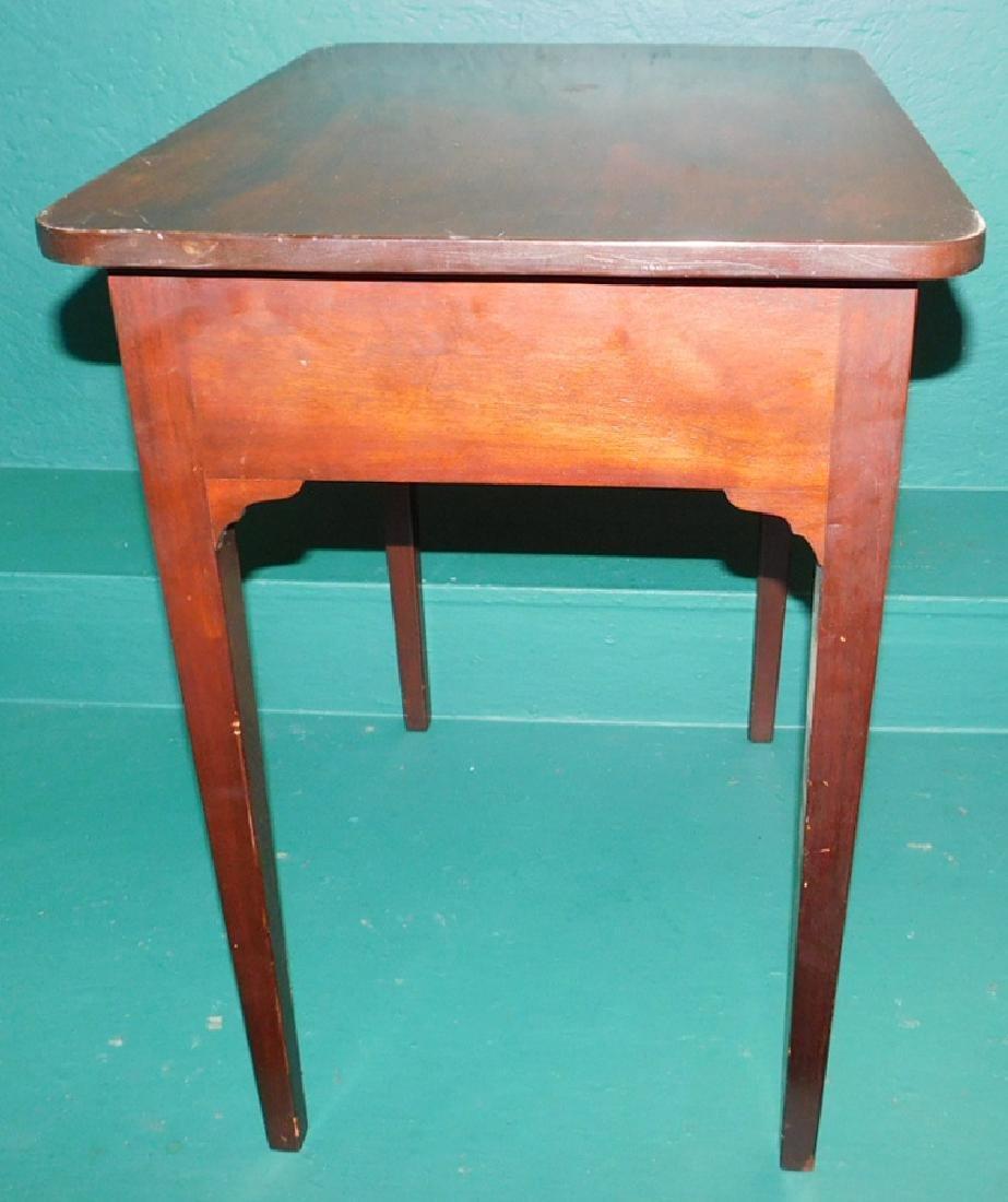 Mahogany One Drawer Stand - 2