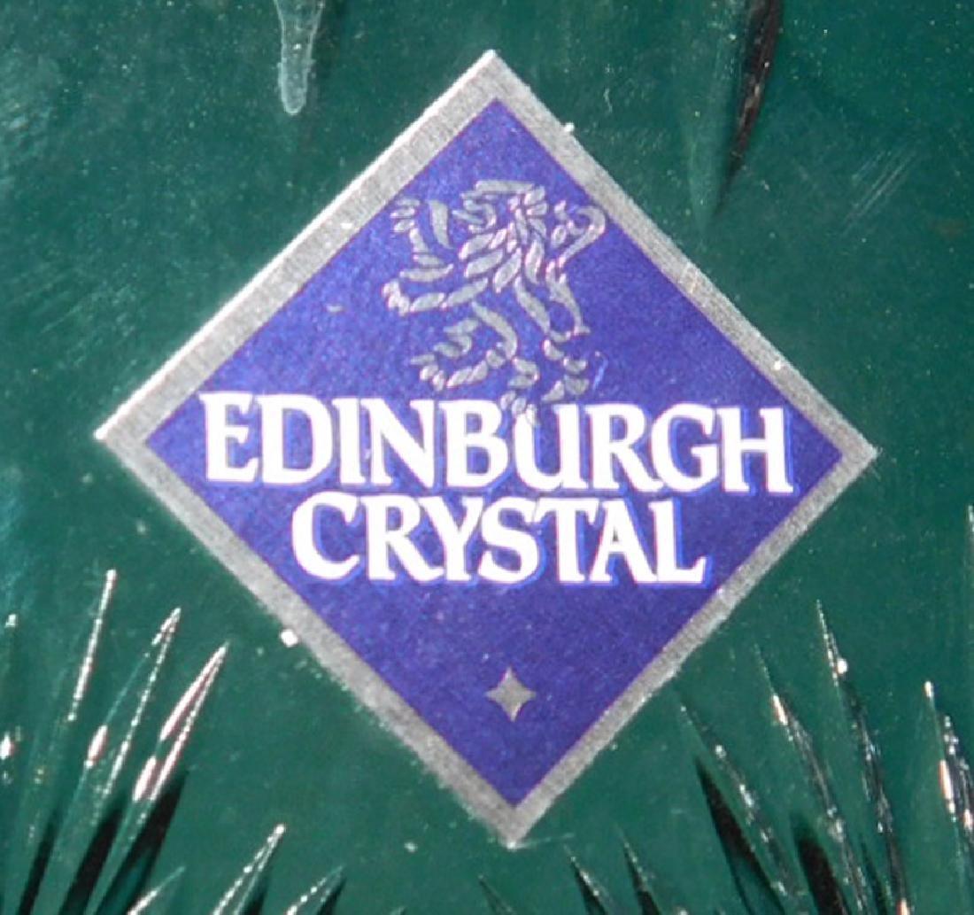 Edinburgh Cut glass Vase & Compote - 4