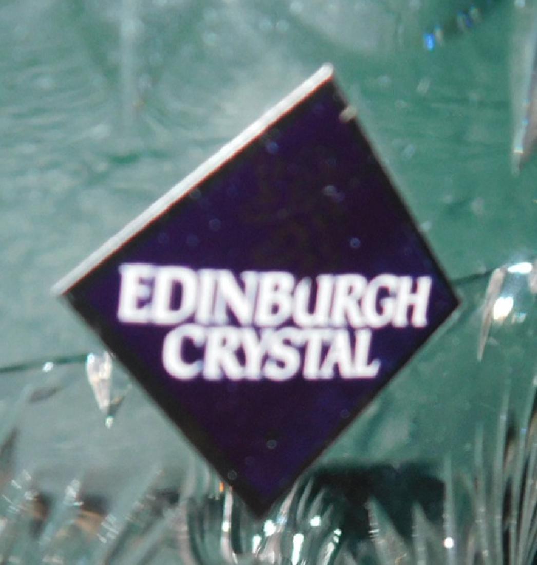 Edinburgh Cut glass Vase & Compote - 6