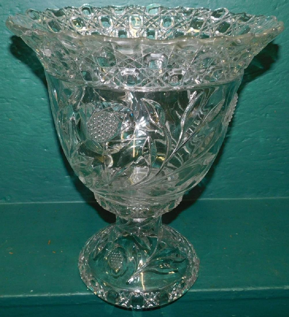 Two Piece Punch bowl On Stand