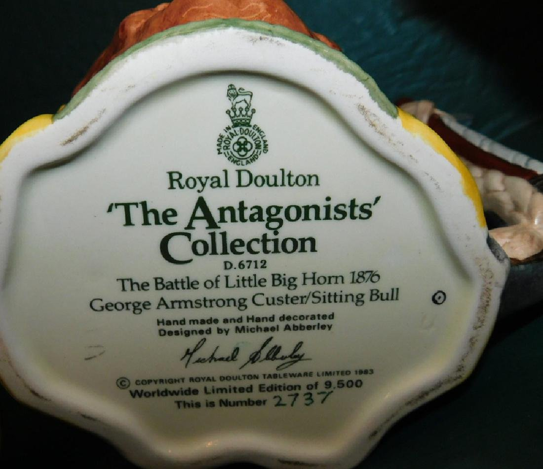 Collection 5  Royal Doulton Tobys - 3